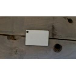 Porte clés photo réctangulaire