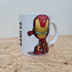 Mug Iron Man Chibie avec...