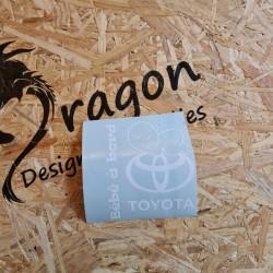 Sticker Bébé a Bord Toyota