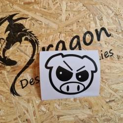 Sticker King Pig drift