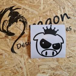 Sticker King Pig drift avec...