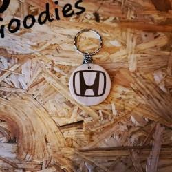 Porte Clés bois Honda