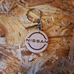 Porte Clés bois Nissan