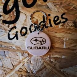 Porte Clés bois Subaru