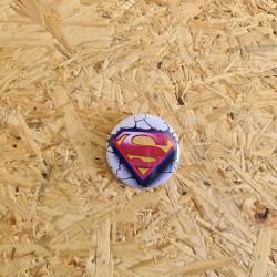 Badge 32mm Superman