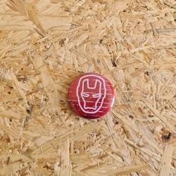 Badge 32mm Ironman